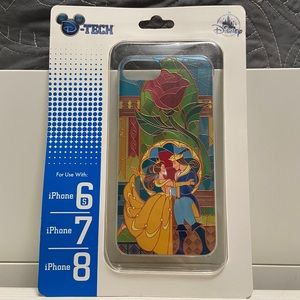 NWT Beauty and the Beast iPhone 6s/7/8 case
